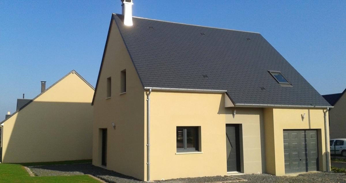 Modèle 3 chambres avec garage intégré